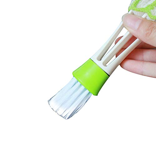 Morza Poratable Cepillo del Coche del vehículo Aire Acondicionado Outlet Cepillo de Limpieza del Teclado a Prueba de Polvo del Cepillo del Tablero de Instrumentos
