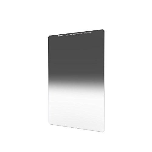 NiSi Verlaufsfilter 100x150mm GND4 0.6 Hard (2-Blenden), Nanobeschichtet und IR-Neutral, mit hartem Verlauf
