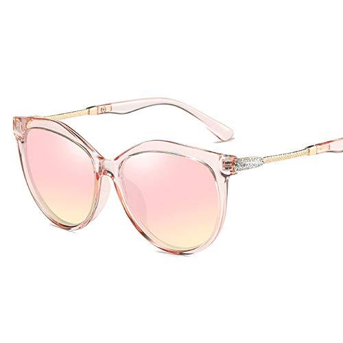JIANG Damen polarisierte Sonnenbrillen, stilvolle Sonnenbrillen mit großem Rahmen, leichtes Design für die meisten Outdoor-Aktivitäten,B