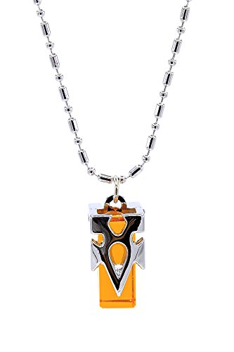 De-Cos Sword Art Online Cosplay Accessory Healing Crystal Pendant Necklace (Asuna Yuuki Kostüm Cosplay)