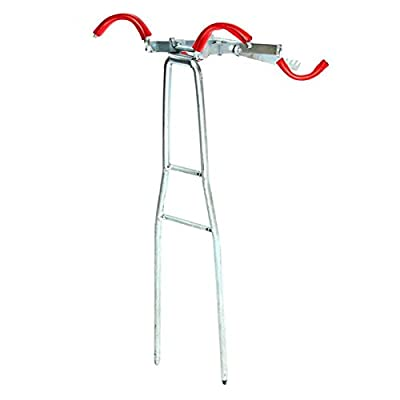 TOOGOO Foldable Adjustable Double Pole Bracket Fishing Rod Stand Holder Sea Fishing Tackle Accessory Tool from TOOGOO