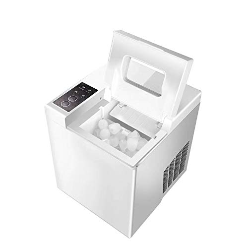 gogobest Mini Automatische Elektrische Eismaschine Kugel Rundenblock Eiswürfel, Der Maschine 15kgs / 24 H Kleine Bar Milch Tee Coffee Shop EU (Eis-maschinen-reiniger)