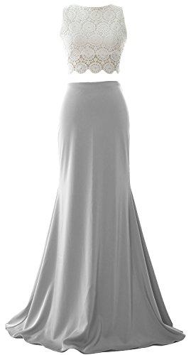 MACloth - Robe - Boule - Sans Manche - Femme Silber