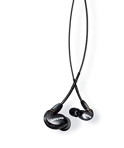 Shure SE215-K-UNI-EFS In-Ear Kopfhörer mit passiver Geräuschunterdrückung für iOS & Android - Premium Ohrhörer mit warmem & detailreichem Klang - Schwarz thumbnail