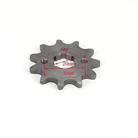 11T avant 20mm Pignon pour chaîne 520Zongshen Lifan Moteur Pit Bike Off Road