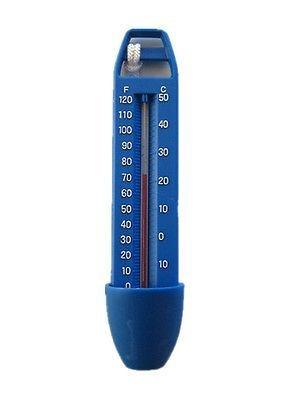 Thermometer 16,5 cm für Schwimmbad/Pool/Spa/Whirlpool/Badewanne. Anzeige in F und Celsius.
