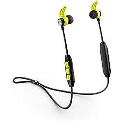 Sennheiser CX Sport Écouteur intra-auriculaire sans fil pour le Sport Noir/jaune