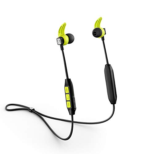 Sennheiser CX Sport Cuffie In Ear Wireless, Nero/Giallo