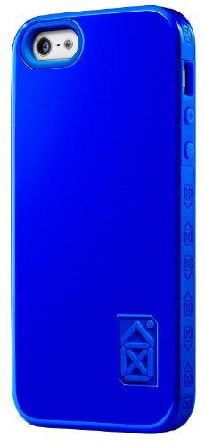 Case scenario Skin & Bone Coque pour iPhone 5/ iPhone SE Rouge Bleu