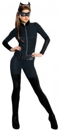 Batman Dark Knight Rises Adult Catwoman Costume Black Famcy (Catwoman Batman Dark Knight Rises Kostüm)