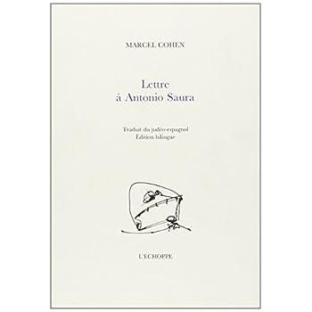 Lettre a Antonio Saura