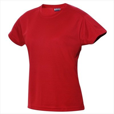 Clique - Ice T Ladies - Funktions-T-Shirt / rot (35), S