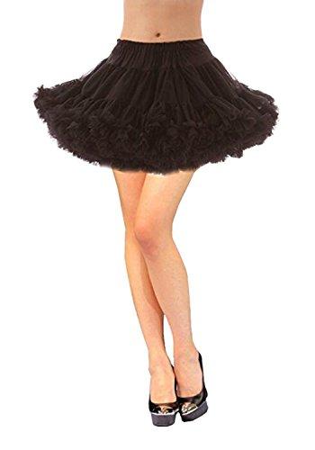RuiyuhongE frauen 50's kurzen petticoat rutscht crinoline mädchen unterrock