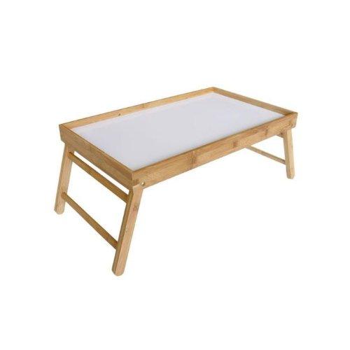 Betttisch Serviertablett Betttablett Laptoptisch Frühstückstablett Beistelltisch Holz Tisch Tablett Klappbar