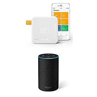 tado° Smart Thermostat Starter Kit V3+ and Amazon Echo (2nd generation) - Intelligent heating control with voice control (B07H48KG1P) | Amazon price tracker / tracking, Amazon price history charts, Amazon price watches, Amazon price drop alerts
