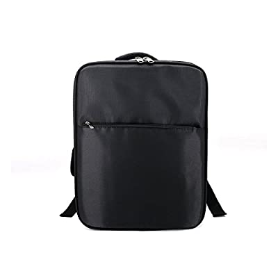 SODIAL Bag For XIAOMI Mi 4K 1080P FPV Drone RC Quadcopters Carry Bags Outdoor Backpack Shockproof Shoulder Bag Suave Free Drop (Black)