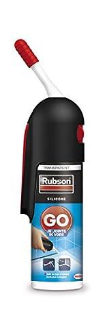 Rubson 1944732 Go Je Mastic d'étanchéité pour sanitaire jointe MSP 100 ml Transparent