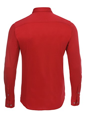 Pure - Chemise business - Homme Rouge uni
