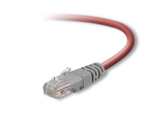 Belkin CAT5e Crossover Netzwerkkabel rot 3-Foot -