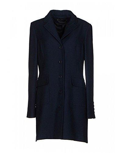 TWIN SET SIMONA BARBIERI Cappotto di lana Chiusura monopetto con bottoni (L)