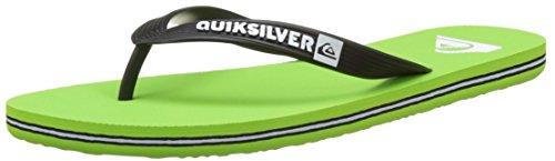 Quiksilver MOLOKAI M SNDL XKKW Herren Sandalen Green/White/Black