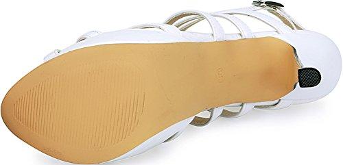 Salabobo , Sandales Compensées femme Blanc