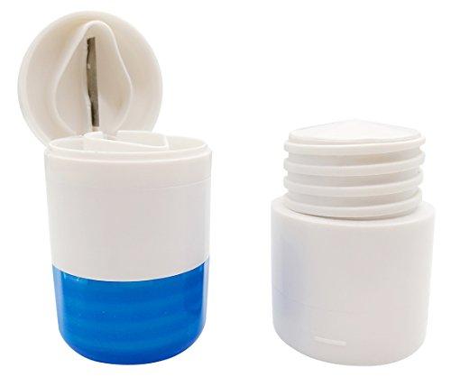 putwo-pillole-organizzatore-pill-crusher-pill-splitter-3-in-1-multifunzione-pill-box-di-viaggio-blu