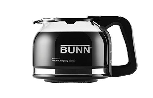 Cup-o-matic (BUNN Pour-O-Matic 10-Cup Drip Free Carafe, Black by Bunn)