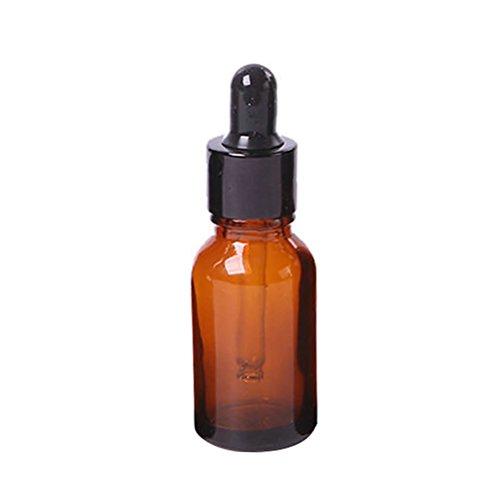 Sunwords Mini-Tropfflasche / Apothekenfläschchen, mit Pipette, aus Braunglas, befüllbar, Lieferung ohne Inhalt, erhältlich in verschiedenen Größen  (4-unzen-sprühflasche)
