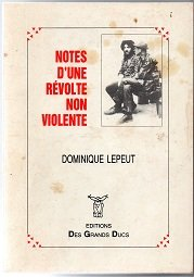 Notes d'une révolte non-violente
