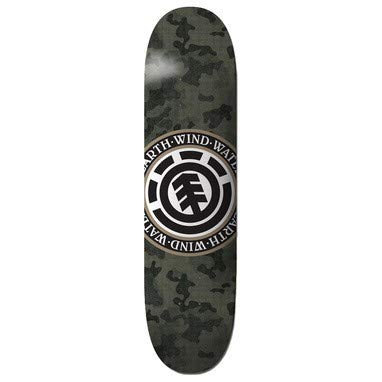 Element Skateboard Deck Bark Camo Seal - 8 Inch Gris-Negro-Blanco (Default 3f49989a882
