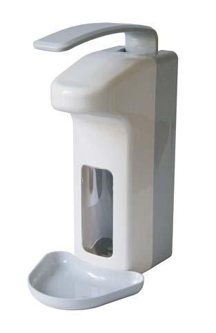 Wandspender Kunststoff 1000 ml mit Tropfschale