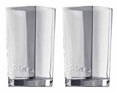 Jura 69000 Latte-macchiato-Gläser 2-er Set, circa 10,9 cm