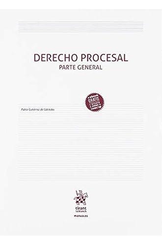 Derecho Procesal Parte General