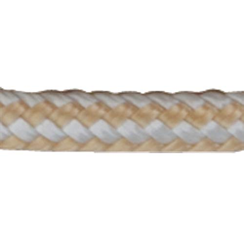 Sea Dog 302106600G/W DOPPELT geflochten Nylon Spule, 1/10,2cm X 600'/Gold/Weiß -