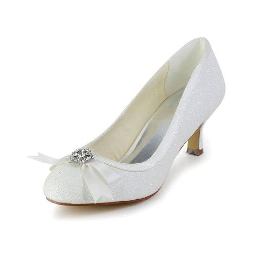 Jia Jia Wedding 1403113 chaussures de mariée mariage Escarpins pour femme Beige