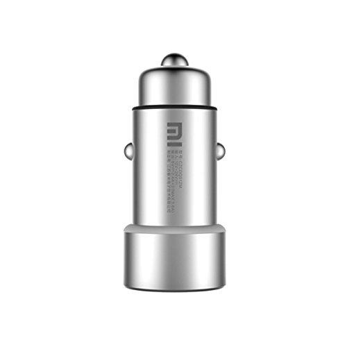 Xiaomi original rápida carga del cargador del coche con puertos USB duales 12 - 24V de entrada