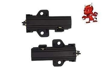 Brosses de charbon pour Electrolux-Gruppe T-Num. 4006020152 avec SOLE MOTOR