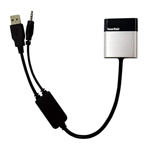 ViseeO Tune2Air WMA3000B Bluetooth Adapter for Streaming iPod/iPhone/iPad to BMW/Mini with original AUX/USB Y-Cable Connection Ipod-adapter
