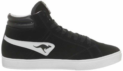 KangaROOS Wilton 7255A Herren Sneaker Schwarz (blk 500)