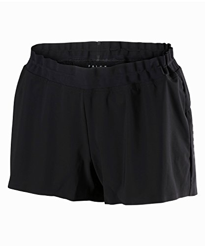 FALKE Damen Running Shorts Women Sporthose, Black, M