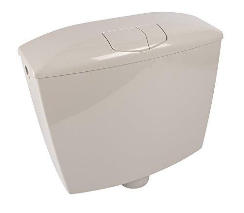 Spülkasten Karat | Kunststoff | 2 Mengen Spültechnik | 3,5 Liter oder 6 - 9 Liter | Tiefspülkasten | WC, Toilette | Manhattan