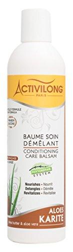 Activilong Baume/Soin Démêlant Aloès/Karité 250 ml