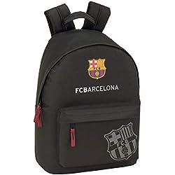 "FC Barcelona Black Oficial Mochila Juvenil Para Portátil 14,1"", 310x160x410mm"