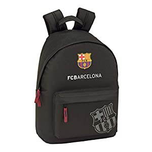 FC Barcelona Black Oficial Mochila Juvenil Para Portátil 14,1″, 310x160x410mm