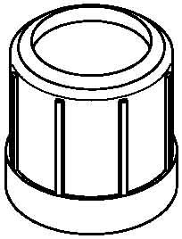 OBO-BETTERMANN SISTEMA CONEX FIJ  - TERMINAL TUBO 129/M63 NEGRO