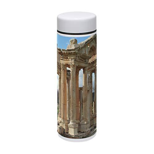 MUOOUM Thermobecher, römisches griechisches Gebäude, vakuumisoliert, Edelstahl, für 12 ()
