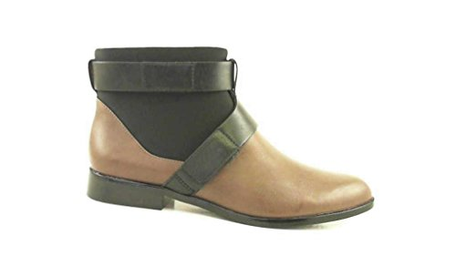 Clarks Bizzy Show, Boots femme Beige (taupe Leather)