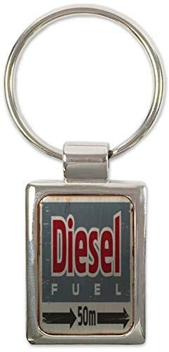 Schlüsselanhänger Oldtimer Auto Diesel Bedruckt