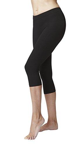 formende leggings TLC Sport Formende, taillierte Trainingscapri-Schwarz-xL